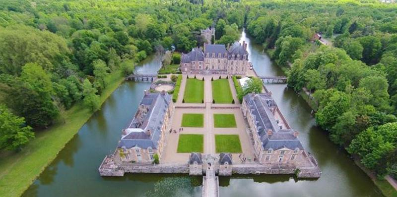 Château de la Ferté Saint-Aubin (Loiret)